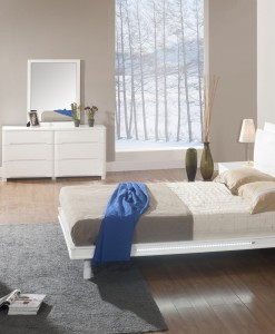 SNOW Bedroom Set with LED Lights