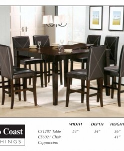 Dining Table Set CF-09-CS1287-anf-C-S6021