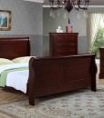 Panel Sleigh Bedroom set