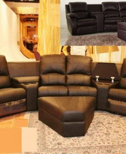 Home Theater (All 4 Recliners)