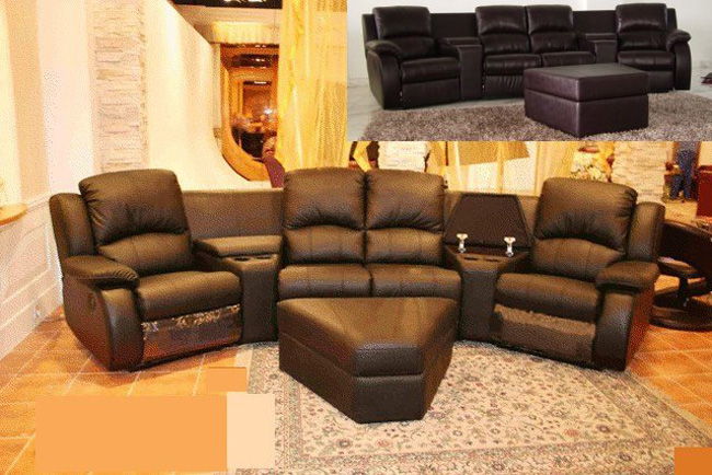 Home Theater (All 4 Recliners) 1